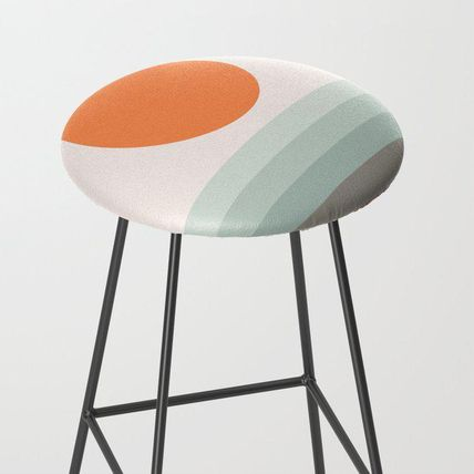 Society6 椅子・チェア 日本未入荷・送料無料 Sunseeker 16 Landscape Bar Stool