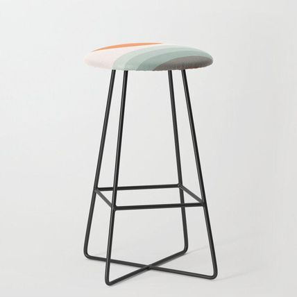 Society6 椅子・チェア 日本未入荷・送料無料 Sunseeker 16 Landscape Bar Stool(2)