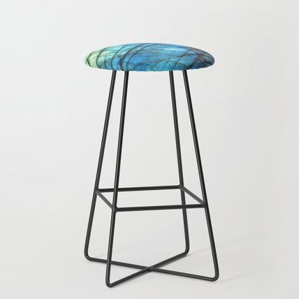 Society6 椅子・チェア 日本未入荷・送料無料 Royal Labradorite Crystal Agate Gemston(2)