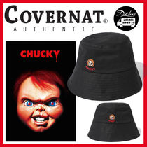 COVERNAT(コボナッ) ハット COVERNAT X CHUCKY FACE BUCKET HAT JH318 追跡付