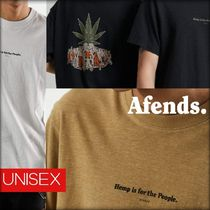 AFENDS日本未入荷☆For The PeopleヘンプTシャツ unisex3色☆AUS