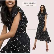 【kate spade】ふんわり清楚☆ditsy begonia dress