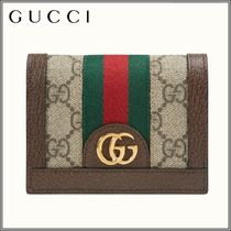 【GUCCI】 Ophidia GGカードケース(コイン&紙幣入れ付き)
