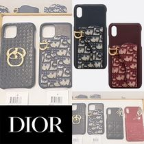 DIOR オブリーク SADDLE iPhone XS MAXケース x 2カラー