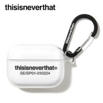 ★thisisneverthat★T-Logo AirPods Pro Case Clear
