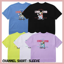 [WV Project] Channel Short Sleeve★韓国の人気★日本未入荷