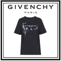 【GIVENCHY】フローラルプリント マスキュリン フィット Tシャツ