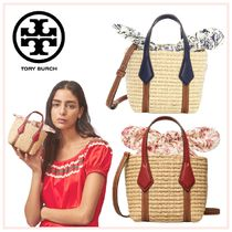 Tory Burch ☆PERRY STRAW NANO TOTE☆送料込