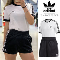 ◆送料無料◆【ADIDAS ORIGINALS】TSHIRT + SHORTS 上下セット◆