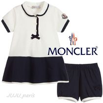 Moncler★2020SS★BABY★袖ロゴワンピ&キュロットセット★6~36M
