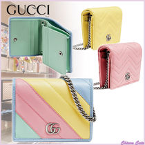 【20SS NEW】 GUCCI_women / GG Marmont カードケース財布 / 3色