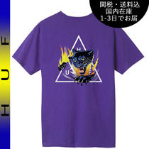 国内在庫・即納可能 HUF JUNGLE CAT TRIPLE TRIANGLE S/S TEE