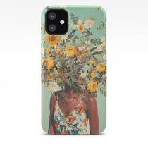 Society6 iPhoneCase & GALAXY Case☆Woman Flower☆