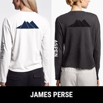JAMES PERSE★ASPEN MOUNTAIN GRAPHIC 長袖Tシャツ★2色