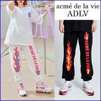 アクメドラビ ADLV★TWICE着用★FLAME LOGO EMBO PANTS FOR MEN