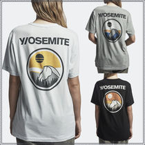 JAMES PERSE★Y/OSEMITE SCENIC GRAPHIC UNISEX Tシャツ★3色