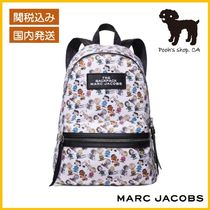 【MARC JACOBS】THE LARGE BACKPACK コラボリュック◆国内発送◆