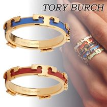 人気!★Tory Burch★SERIF-T ENAMELED STACKABLE リング
