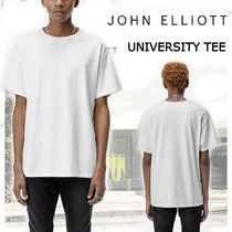 完売必須! JOHN ELLIOTT UNIVERSITY TEE-WHITE
