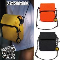 【MSKN2ND】SACOCHE BAG (BLACK/ORANGE/YELLOW)