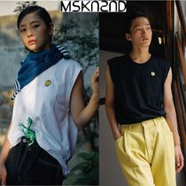 【MSKN2ND】SM:]E PATCH TANK TOP BLACK/WHITE