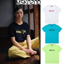 【MSKN2ND】SM:]E PRINTED T-SHIRT 4色