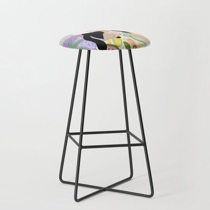 Society6 椅子・チェア 日本未入荷・送料無料 Witchy Woman Bar Stool(2)