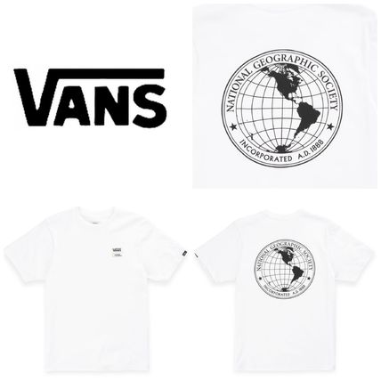 VANS キッズ用トップス 【Vans】☆新作☆キッズ☆NATIONAL GEOGRAPHIC BOYS T-SHIRT