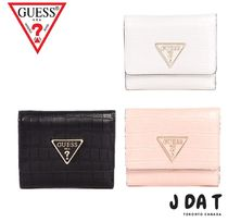 Guess(ゲス)MADDY CROC TRIFOLD WALLET♡お財布