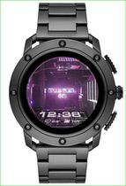Diesel On Axial Stainless Steel Touchscreen Smartwatch