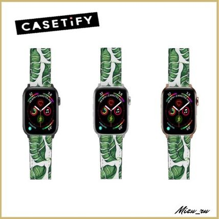☆ Casetify Apple Watch バンド  Banana leaves ♪