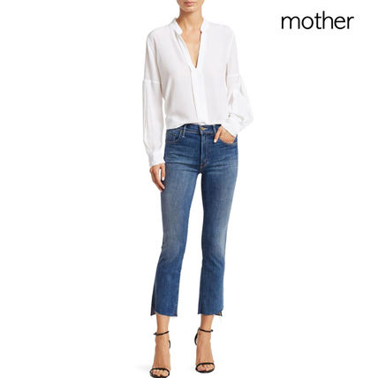 MOTHER デニム・ジーパン マザー ★ Insider Crop Step Fray Jeans ★ Not Rough Enough
