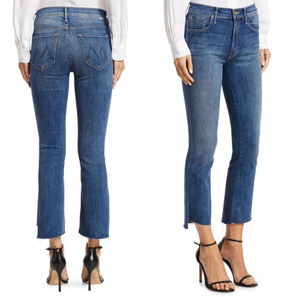 MOTHER デニム・ジーパン マザー ★ Insider Crop Step Fray Jeans ★ Not Rough Enough(2)
