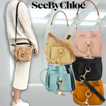 SEE BY CHLOE★Tony Small Leather Bucketバッグ★CHS19USA05565