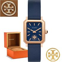 激安!Tory Burch Robinson 27mm x 29mm Blue/ Rose Gold