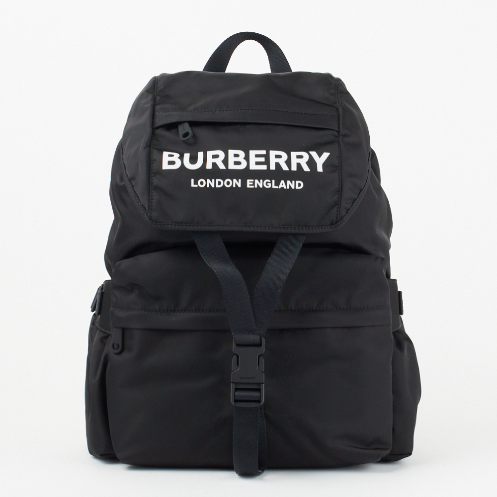 BURBERRY  ロゴプリント LL WILFIN  BACKPACK BLACK (Burberry/バックパック・リュック) 55336888