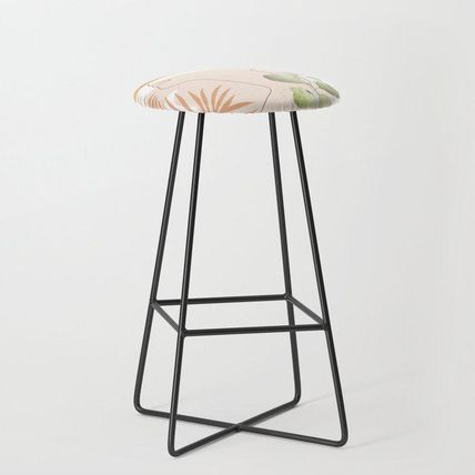 Society6 椅子・チェア 日本未入荷・送料無料 Line in Nature I Bar Stool(2)