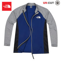 【THE NORTH FACE】M'S SUPER WAVE ZIP-UP RASHGUARD NJ5JJ10J