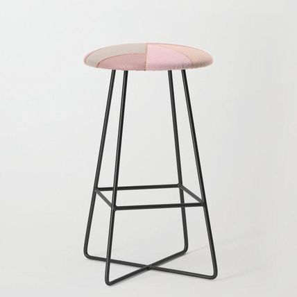 Society6 椅子・チェア 日本未入荷・送料無料 Modern rose gold peach blush pink color(2)