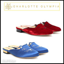 ///Sale/// CHARLOTTE OLYMPIA*Kitty ねこ ミュールスリッパ