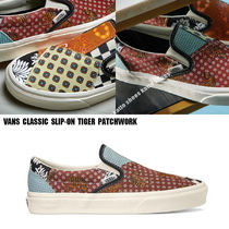 VANS★CLASSIC SLIP-ON TIGER PATCHWORK★兼用