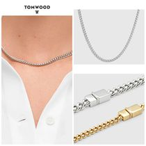 【TOM WOOD】☆新作☆ Rounded Curb Chain Thin