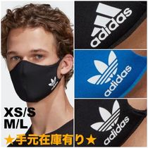 ADIDAS|FACE COVER M/L 3-PACK マスク3枚入り 黒