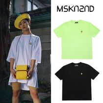 【MSKN2ND】SM:]E PATCH OVERSIZED T-SHIRT 3色