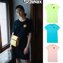 【MSKN2ND】SM:]E PATCH T-SHIRT DRESS 4色