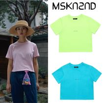 【MSKN2ND】MINI LOGO CROP T-SHIRT 3色