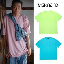 【MSKN2ND】MINI LOGO OVERSIZED T-SHIRT 3色