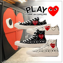 【COMME des GARCONS】 CONVERSE ALL STARS コラボスニーカー
