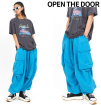OPEN THE DOOR taslan balloon pants (3 color)
