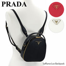 Saffiano Lux Backpack レディース バックパック リュクサック